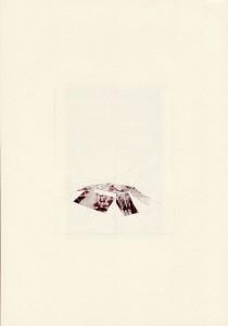 Raphaël Van Lerbeghe 4 way fun, 2010 Papier découpé et dessin sur papier et carte postale 29,7 x 21 cm