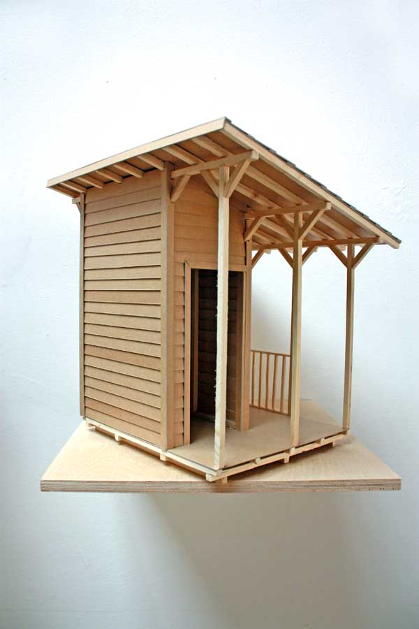 Nadjavilenne leblog jeroen van bergen - Construire un toit 1 pente ...