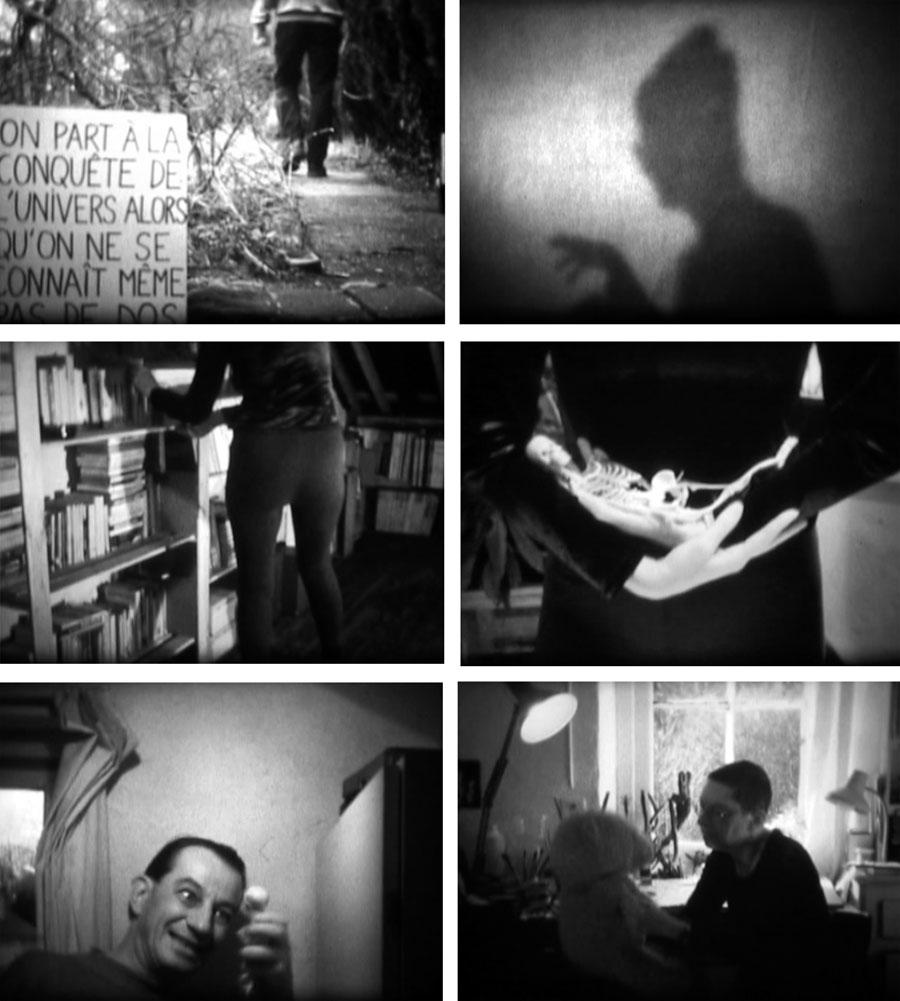 Pol Pierart, film n°12, Film super 8, numérisé sur support DVD, NB, son, 2.37, 2005