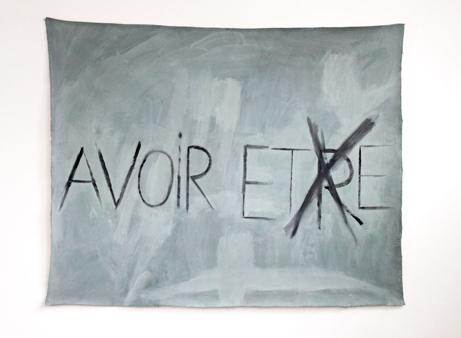 Pol Pierart, Avoir / Etre / Ete