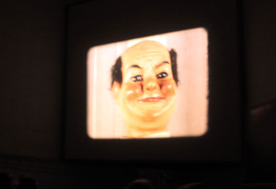 Marcel Broodthaers, projection