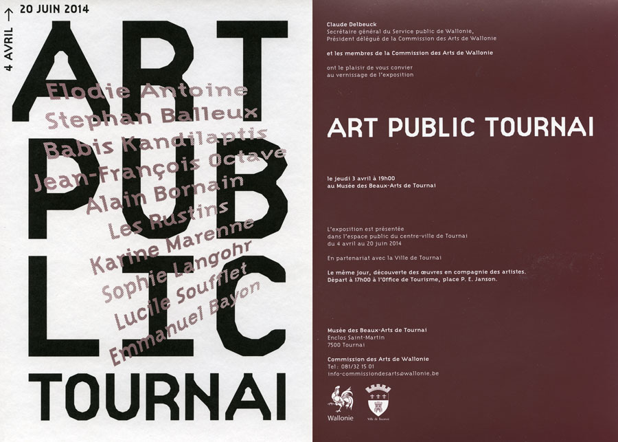 Art public Tournai