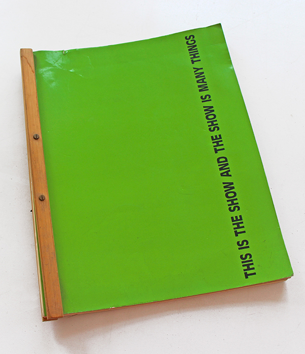 This is the book of the show